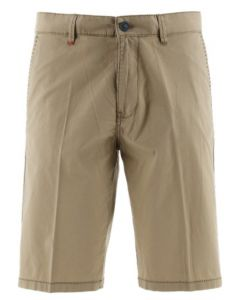 Sea barrier chino short Suppel donkerzand