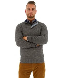Fellows united pullover grey melee
