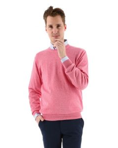 Redmond pullover regular fit rood
