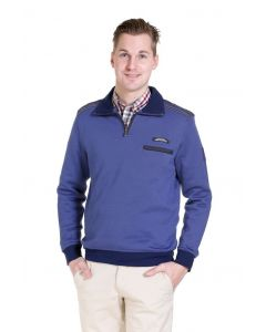 Meantime sweatshirt, blauw
