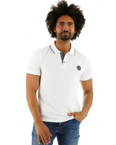 Sea Barrier polo shirt Toffa wit