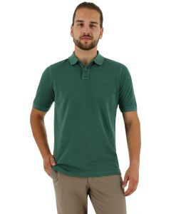 Baileys polo shirt korte mouw dark green