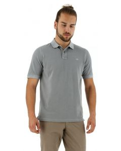 Baileys polo shirt korte mouw grey