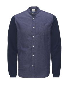 Jack en Jones nonni longsleeve shirt, navy
