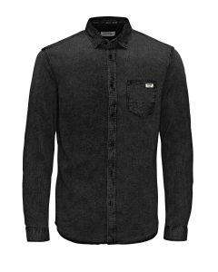 Jack & Jones JJORPRESS shirt, donkergrijs